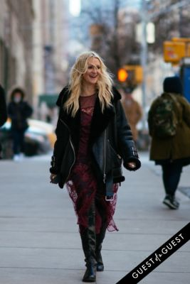 zanna roberts-rassi in NYFW Street Style Day 4