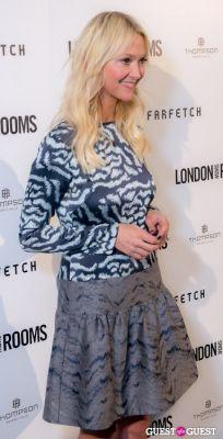zanna roberts-rassi in British Fashion Council Present: LONDON Show ROOMS LA Cocktail Party
