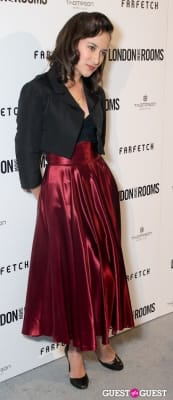 zelda rae-williams in British Fashion Council Present: LONDON Show ROOMS LA Cocktail Party
