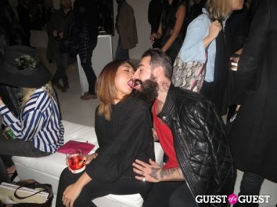 zha zha-vi in Julia Restoin Roitfeld Hosts