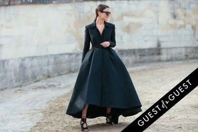 zina charkoplia in Paris Fashion Week Pt 4