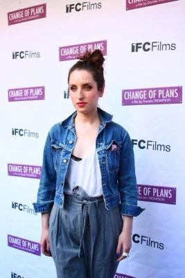 zoe lister-jones in Special Screening of CHANGE OF PLANS Hosted by Diane Von Furstenburg and Barry Diller