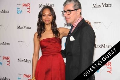 zoe saldana in Whitney Art Party 2014