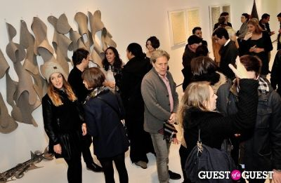 "michel gerard in Ricardo Rendon ""Open Works"" exhibition opening"