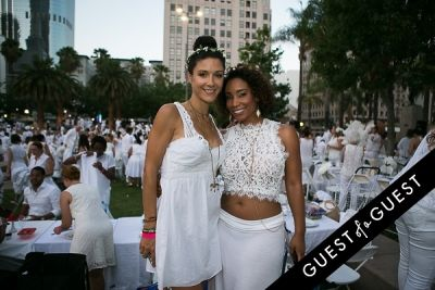 zshakira gray in Le Diner En Blanc Los Angeles 2015