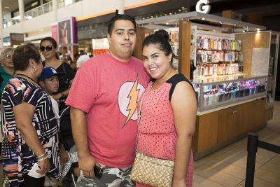 zulma galindo in The Shops at Montebello Hispanic Heritage Month Event