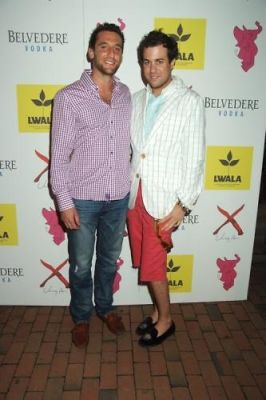 jeremy abelson in Belvedere Vodka and L.W.A.L.A Hamptons Fundraiser at the Pink Elephant
