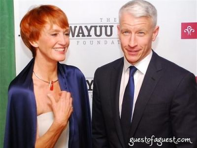 anderson cooper in The Wayuu Taya Foundation Gala