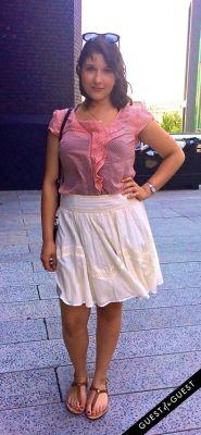 nadia kadhim in Summer 2014 NYC Street Style