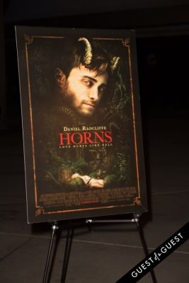 poster in Premiere of PAX by Ploom presents TWC's HORNS