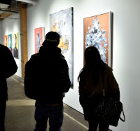 Never Said Never exhibition opening at Joseph Gross Gallery #133