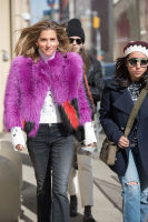 New York Fashion Week Street Style: Day 2 #2