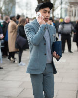 London Fashion Week Street Style AW16 #23