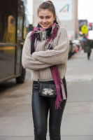 New York Fashion Week Street Style: Day 1 #14