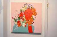 Voltz Clarke Gallery's Exhibition Garlands Of Skulls featuring Art Work By Christina Burch #42