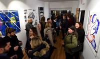 Jonathan Lindsay solo exhibition opening #4