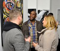 Jonathan Lindsay solo exhibition opening #26