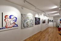 Jonathan Lindsay solo exhibition opening #105