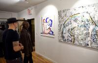 Jonathan Lindsay solo exhibition opening #112