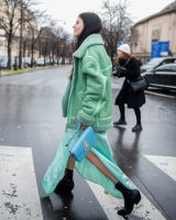 Paris Fashion Week Street Style #17