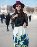 Paris Fashion Week Street Style #42