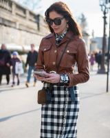 Paris Fashion Week Street Style #49