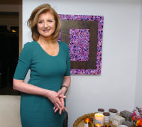 Arianna Huffington attends The Spring Story 'Marrakech Meets California' Hosted by Rumi Neely & Isabella Huffington on March 24, 2016 (Photo by Milla Cochran/Guest Of A Guest)