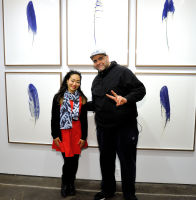 Eagle Hunters exhibition opening at Joseph Gross Gallery #50