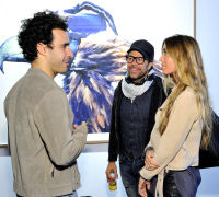 Eagle Hunters exhibition opening at Joseph Gross Gallery #57