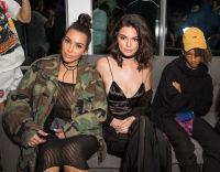 Kim Kardashian, Kendall Jenner, Jaden Smith