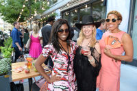 CHICAGO, IL - JULY 22: (L-R): Kori Coleman, Lou Garza and Chelsea Harvey photographed during Molly Guy's Chicago Soiree in Bloom curated with Cointreau and Guest of a Guest on Friday, July 22, 2016 at The James Chicago hotel in Chicago, Illinois. (Photo by Randy Belice)