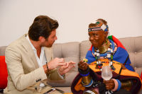 Belvedere Celebrates (RED) and Partnership with South African Artist, Esther Mahlangu at Ace Gallery in Los Angeles [Cocktail Reception] #36
