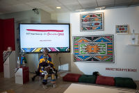 Belvedere Celebrates (RED) and Partnership with South African Artist, Esther Mahlangu at the Dusable Museum in Chicago #18