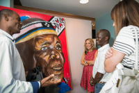 Belvedere Celebrates (RED) and Partnership with South African Artist, Esther Mahlangu at the Dusable Museum in Chicago #37
