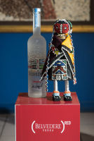 Belvedere Celebrates (RED) and Partnership with South African Artist, Esther Mahlangu at the Dusable Museum in Chicago #36