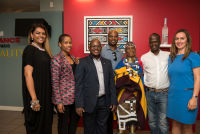 Belvedere Celebrates (RED) and Partnership with South African Artist, Esther Mahlangu at the Dusable Museum in Chicago #42