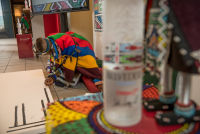 Belvedere Celebrates (RED) and Partnership with South African Artist, Esther Mahlangu at the Dusable Museum in Chicago #73