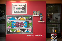 Belvedere Celebrates (RED) and Partnership with South African Artist, Esther Mahlangu at the Dusable Museum in Chicago #98