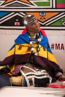 Belvedere Celebrates (RED) and Partnership with South African Artist, Esther Mahlangu at the Dusable Museum in Chicago #116