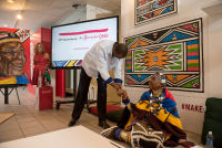 Belvedere Celebrates (RED) and Partnership with South African Artist, Esther Mahlangu at the Dusable Museum in Chicago #119