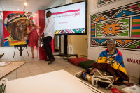Belvedere Celebrates (RED) and Partnership with South African Artist, Esther Mahlangu at the Dusable Museum in Chicago #123