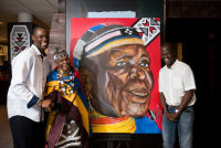 Belvedere Celebrates (RED) and Partnership with South African Artist, Esther Mahlangu at the Dusable Museum in Chicago #126