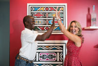 Belvedere Celebrates (RED) and Partnership with South African Artist, Esther Mahlangu at the Dusable Museum in Chicago #138