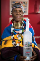Belvedere Celebrates (RED) and Partnership with South African Artist, Esther Mahlangu at the Dusable Museum in Chicago #148