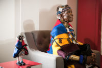 Belvedere Celebrates (RED) and Partnership with South African Artist, Esther Mahlangu at the Dusable Museum in Chicago #159