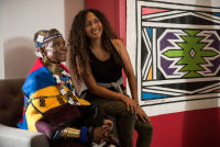 Belvedere Celebrates (RED) and Partnership with South African Artist, Esther Mahlangu at the Dusable Museum in Chicago #164