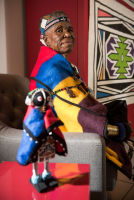 Belvedere Celebrates (RED) and Partnership with South African Artist, Esther Mahlangu at the Dusable Museum in Chicago #161