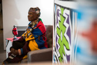 Belvedere Celebrates (RED) and Partnership with South African Artist, Esther Mahlangu at the Dusable Museum in Chicago #175