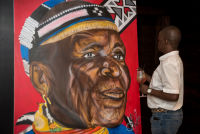 Belvedere Celebrates (RED) and Partnership with South African Artist, Esther Mahlangu at the Dusable Museum in Chicago #208