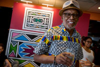 Belvedere Celebrates (RED) and Partnership with South African Artist, Esther Mahlangu at the Dusable Museum in Chicago #226